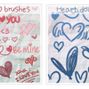 Thumbnail image for Brusheezy Free Valentine&#8217;s Day Brushes
