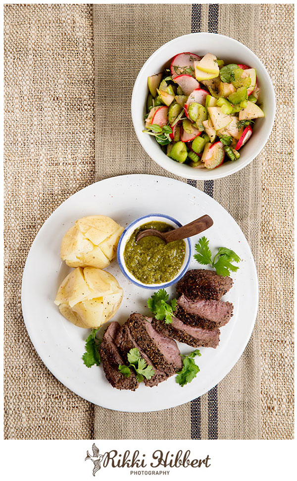 Peppered-Steak-and-Pesto-Rikki-Hibbert-Photography