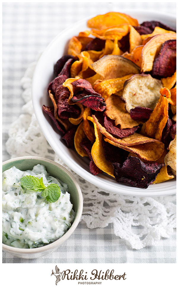 Tzakziki-and-Veg-Chips-Rikki-Hibbert-Photography