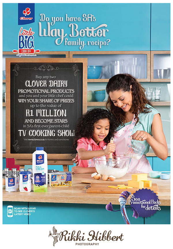 Post image for Lifestyle Photography   Clover Little Big Cook Off SABC3