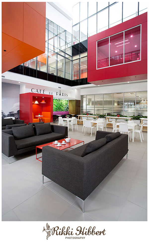 Post image for Commercial Interior Photography | Total Head Quarters, Rosebank