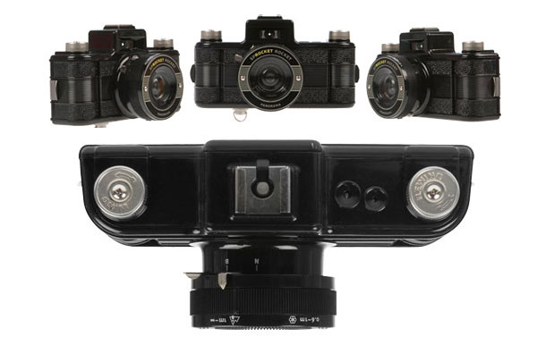 Sprocket Rocket Camera : The sprocket rocket panoramic lomography camera