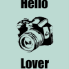 Thumbnail image for Printable: Hello Camera Lover Poster