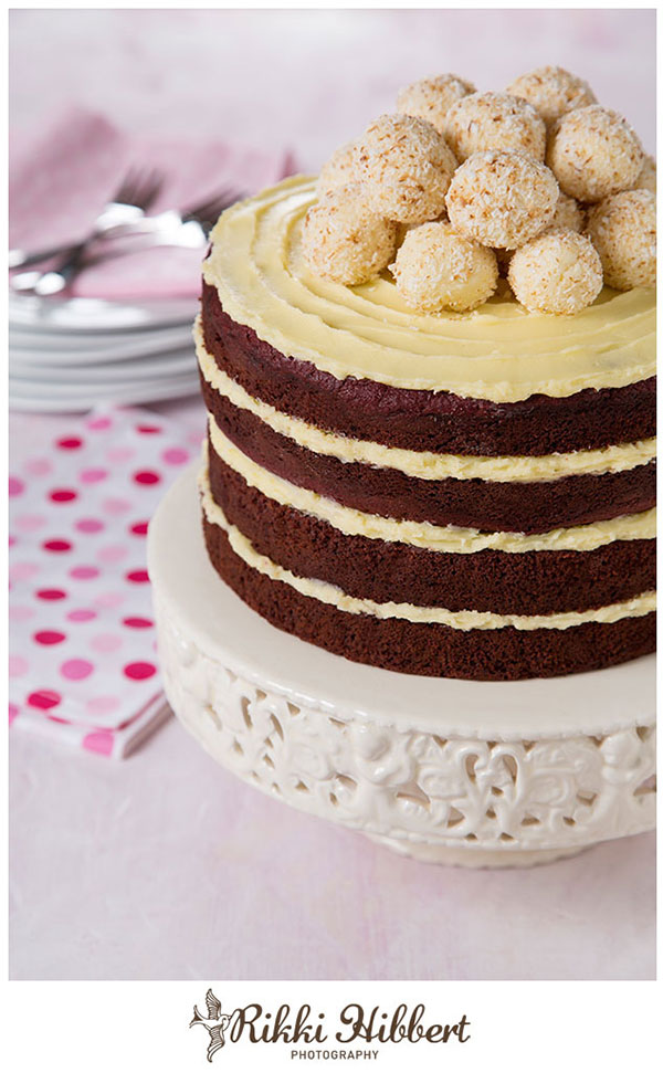 Red-Velvet-Cake-with-Fudge-Truffles-Rikki-Hibbert-Photography